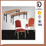 Tables restaurant PVC banquets et chaises empilables Aluminium Métal Chiavari Napoléon (BR-C304)