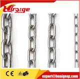 Cadena de alta calidad en acero inoxidable Enlace con la certificación CE