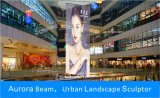 Al aire libre pantalla LED transparente para cartelera publicitaria