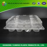 Caixa plástica descartável da padaria do produto comestível do OEM