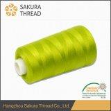 縫う糸のための卸し売りOeko-Tex 100%染められたポリエステルヤーン