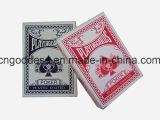 Playingcards revestido plástico con la caja de presentación