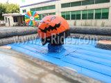 Jogos mecânicos do rodeio da abóbora do partido de Halloween