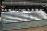 波形のGIの屋根瓦または水波の電流を通された鋼板