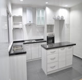 Cabina de cocina simple de la chapa del MDF 2016