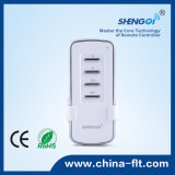 Interruttore senza fili chiaro bidirezionale di telecomando per la casa
