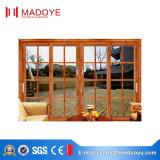 Kundenspezifische hochwertiger spätester Entwurfs-Aluminiumschiebetür für Terrasse