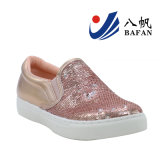 Sequins-obere Form-Frauen-Turnschuhe Bf1610114