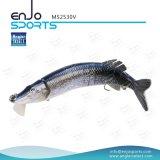 Attrait en plastique réaliste de pêche joint multi choisi de pêche de palan de pêche de plongée profonde de Swimbait d'attrait de pêcheur (MS2530V)