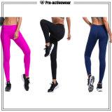 Pantaloni su ordinazione di yoga del contrassegno privato di usura di allenamento di forma fisica di ginnastica di donne
