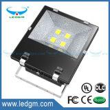 2017년 세륨 UL RoHS IP65 옥외 SMD 50W 100W 150W 200W LED 플러드 빛 100lm/W