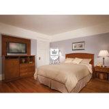米国式の純木フレームのホテルの寝室の家具セット