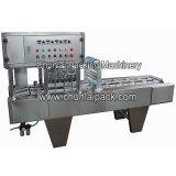 豆腐のプラスチックの箱のシーリング機械