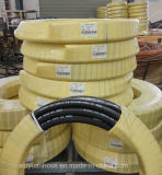Flexibler hydraulischer Gummischlauch des gewundenen Hochdrucköl-SAE100r5
