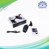 Kit sin manos del coche del transmisor de Bluetooth FM del coche audio sin hilos del jugador con la visualización del LCD y el acceso de carga del USB