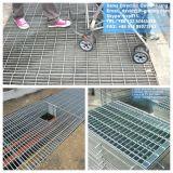 Gegalvaniseerde Grating van het Metaal van het Staal voor Afvoerkanaal en Vloer