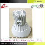 L'alliage d'aluminium d'usine de la Chine le corps de boîtier d'éclairage du moulage mécanique sous pression DEL