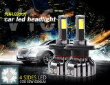 Самая новая фара автомобиля вспомогательного оборудования 4-Side высокая самая яркая СИД V16 60W автоматическая