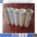 Sachet filtre de medias de filtrage de filtre à manches de la poussière de fournisseur d'usine
