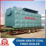chaudière à eau chaude du combustible solide 14-70MW