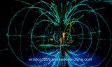 Sistema de projeção holográfico do estágio da tela 3D da gaze de Holo para o desfile de moda