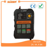 Suoer 6V 12V intelligente intelligente Autobatterie-Aufladeeinheit (A01-0612A)