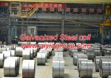 電流を通された鋼鉄コイル(コーティング: 60G/M2-600G/M2) 0.1mm-5mmの常連のスパンコールおよびゼロスパンコール