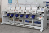 6 Kopf computergesteuerte Textilschutzkappen-Stickerei-Maschine