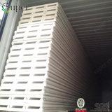 Pannello a sandwich del poliuretano del materiale da costruzione per il tetto e la parete