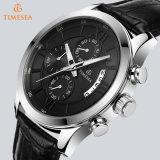 주문 Men72653를 위한 크로노그래프 로즈 금에 의하여 도금되는 손목 시계