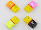 Micro leitor do smart card do cartão de memória do USB 2.0 de SD/TF micro