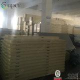 Painel de sanduíche do poliuretano do uso do quarto frio do material de construção da qualidade superior