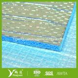 Aluminiumfolie verband den Schaumgummi des Schaumgummi-XPE quer, der als Wand-Isolierung verwendet wurde