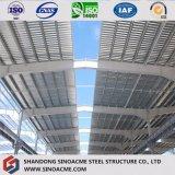 Magazzino della struttura d'acciaio/workshop/tettoia prefabbricati galvanizzati di memoria
