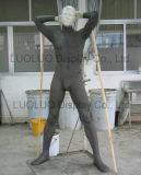 Mannequin masculino realístico do ODM para o vestido de Windows
