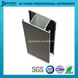 Perfil T5 de alumínio da extrusão 6063 para a porta do indicador personalizada