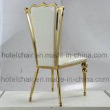 Стул комнаты нержавеющей стали цвета золота живущий с обедать трактир
