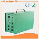Suoer LED 빛 (ST-A02)를 가진 휴대용 12V 7ah 가정 사용자 태양 에너지 공급