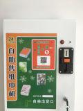 Máquina de la toalla de papel del autoservicio/máquina expendedora del tejido con la ranura de moneda