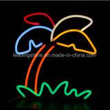 Luz de néon colorida personalizada do cabo flexível do diodo emissor de luz da decoração do hotel da barra do sinal de WiFi