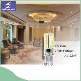 110V 220V SMD2835 G9 LED Licht