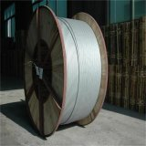 木のドラムの電源コードのアルミニウム覆われた鋼線