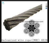 Iwrc-6X19 Class Galvanized Wire Rope Eips (Steel Core)