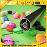 Perfil de aluminio del tubo de la fuente de la fábrica con la talla de Custimized y colores para el uso de Funriture