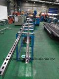 Прорезанная гальванизированная стальная машина канала c распорки