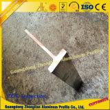 ISO Schlitz-industrielles Aluminiumprofil des 9001 t-Stab-T für Gebäude