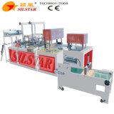 Vier Falten-Beutel, der Maschine herstellt
