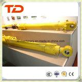 Cilindro del petróleo de la asamblea de cilindro hidráulico del cilindro del compartimiento de KOMATSU PC400-7 para los recambios del cilindro del excavador de la correa eslabonada