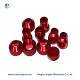 Customized CNC Usinage Aluminium Seal Cover plaqué pièces de lumières