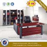 Escritorio de oficina ejecutiva de caoba del CEO del MDF del color de la venta caliente (HX-D005)